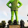 Blue Earth, Minnesota - Jolly Green Giant Country!