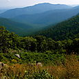 Blue Ridge Mtns. in Shenandoah Nat'l Park