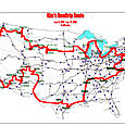 My long wonderful drive around America